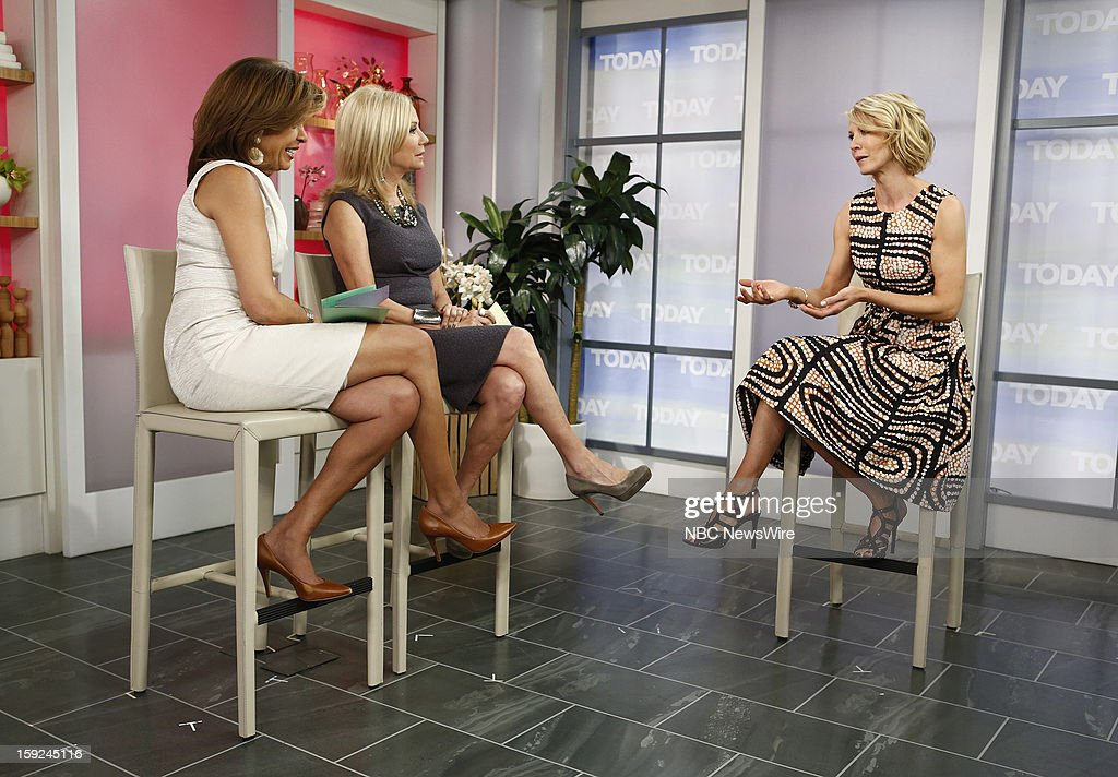 Hoda Kotb, Kathie Lee Gifford and Jenna Elfman appear on NBC News' 'Today' show --