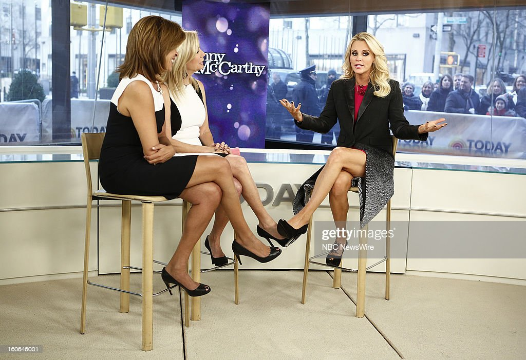 Hoda Kotb, Kathie Lee Gifford and Jenny McCarthy appear on NBC News' 'Today' show --