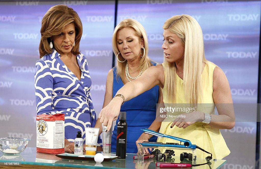 Hoda Kotb, Kathie Lee Gifford and Jill Martin appear on NBC News' 'Today' show --