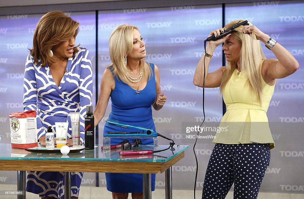 Hoda Kotb, Kathie Lee Gifford and Jill Martin appear on NBC News' 'Today' show --