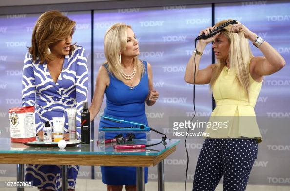 Hoda Kotb Kathie Lee Gifford and Jill Martin appear on NBC News' 'Today' show