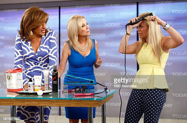 Hoda Kotb Kathie Lee Gifford and Jill Martin appear on NBC News' 'Today' show