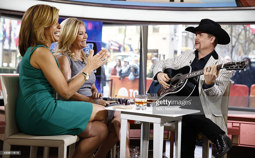 Hoda Kotb, Kathie Lee Gifford and John Rich appear on NBC News' 'Today' show --