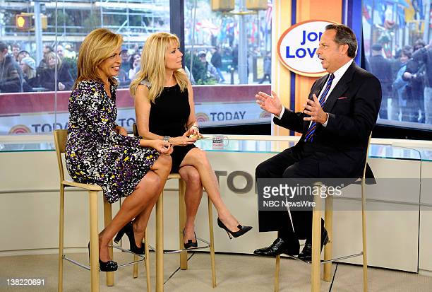 Hoda Kotb Kathie Lee Gifford and Jon Lovitz appear on NBC News' 'Today' show