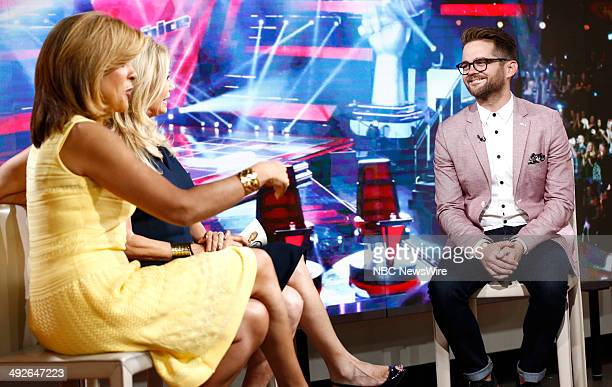Hoda Kotb Kathie Lee Gifford and Josh Kaufman appear on NBC News' 'Today' show