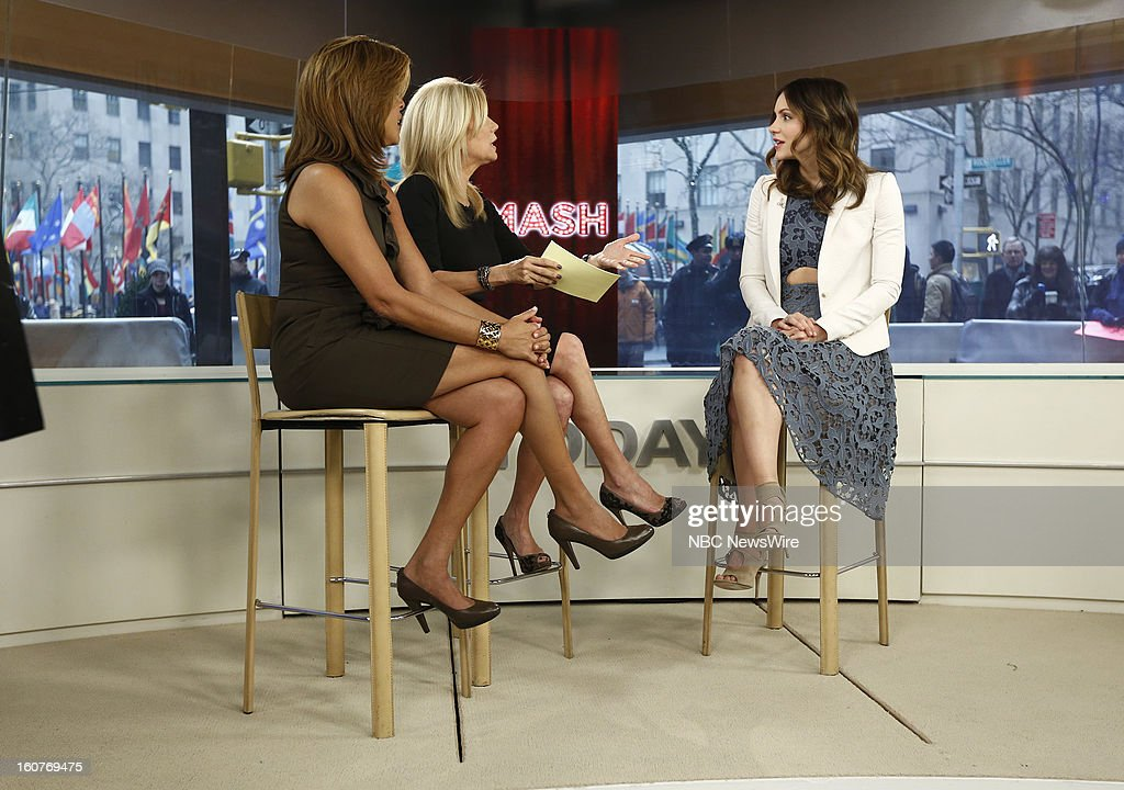 Hoda Kotb, Kathie Lee Gifford and Katharine McPhee appear on NBC News' 'Today' show --