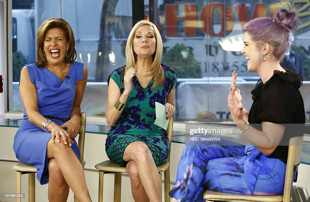 Hoda Kotb, Kathie Lee Gifford and Kelly Osbourne appear on NBC News' 'Today' show --