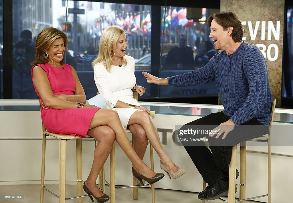 Hoda Kotb, Kathie Lee Gifford and Kevin Sorbo appear on NBC News' 'Today' show --
