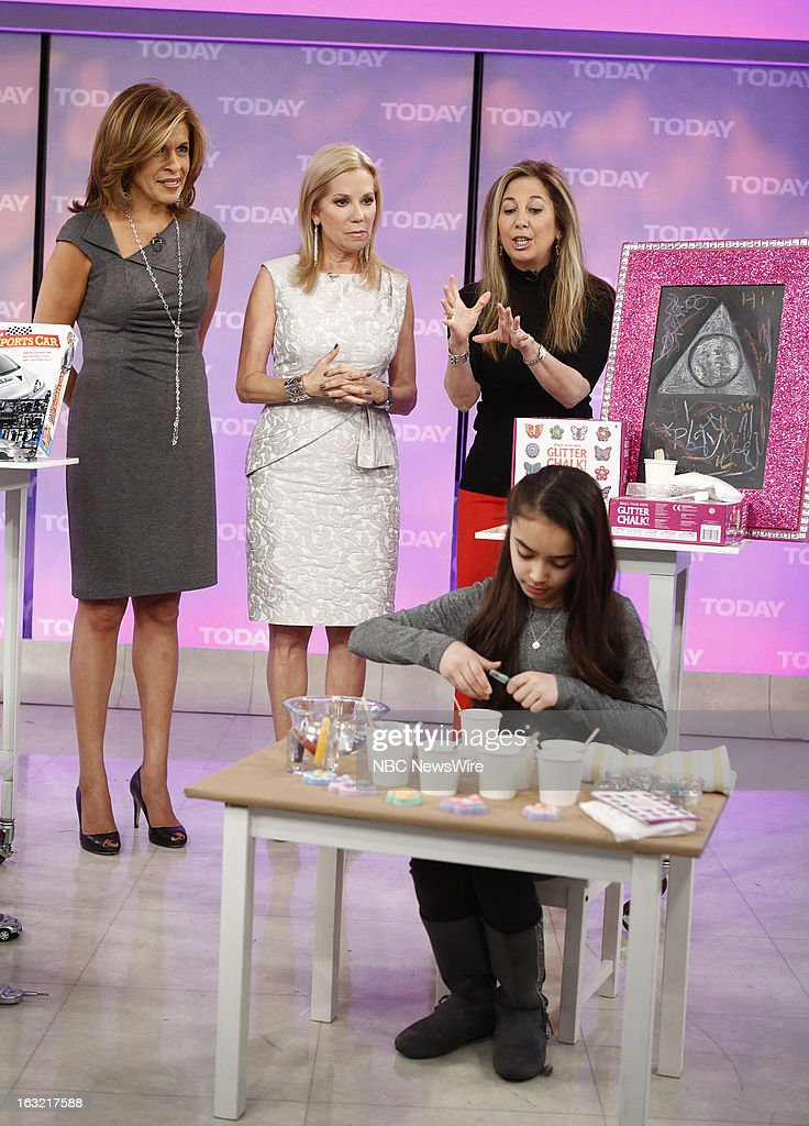 Hoda Kotb, Kathie Lee Gifford and Laurie Schacht appear on NBC News' 'Today' show --