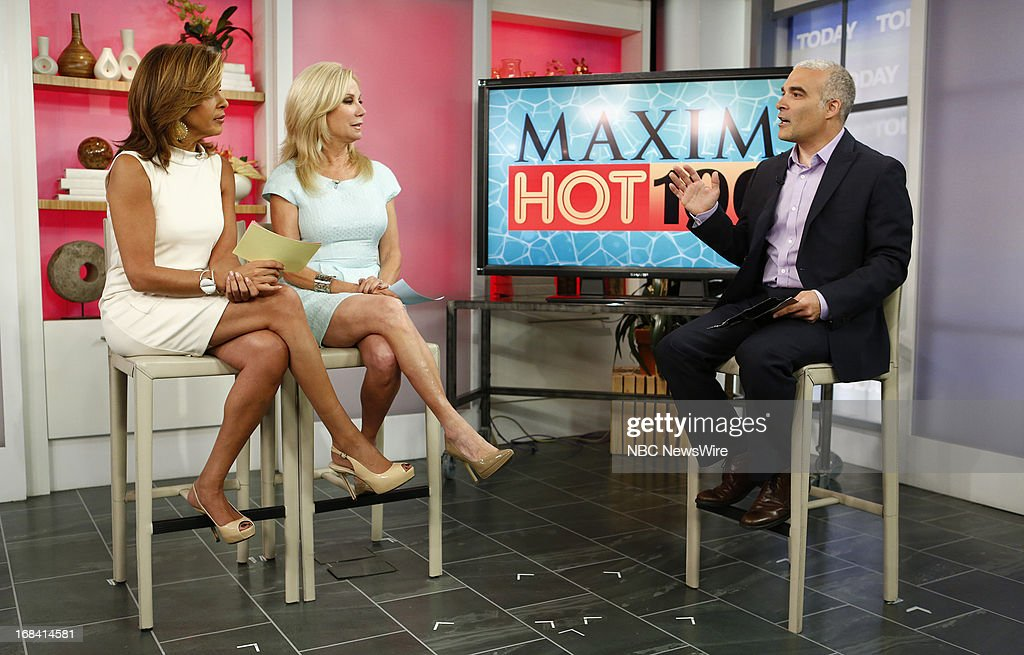 Hoda Kotb, Kathie Lee Gifford and Maxim Magazine's Dan Bova appear on NBC News' 'Today' show on May 9, 2013 --