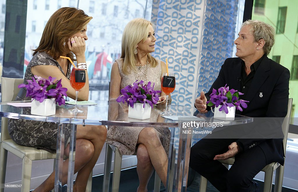 Hoda Kotb, Kathie Lee Gifford and Michael Bolton appear on NBC News' 'Today' show --