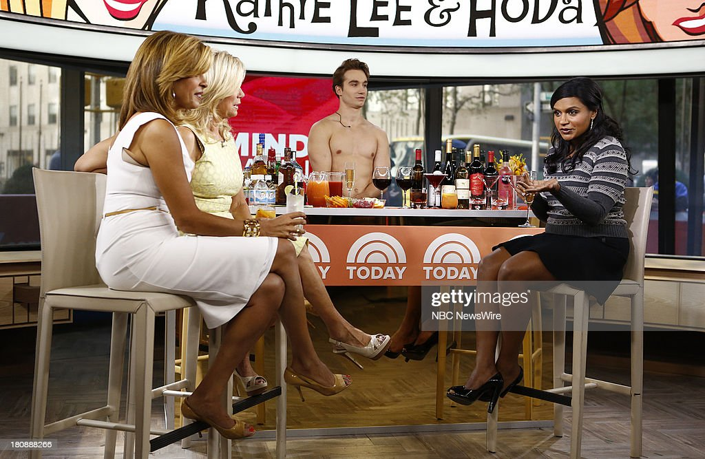 Hoda Kotb, Kathie Lee Gifford and Mindy Kaling appear on NBC News' 'Today' show --