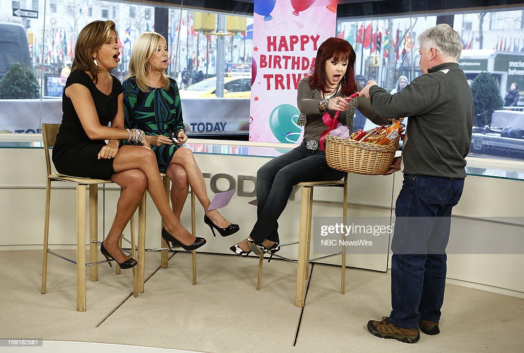 Hoda Kotb, Kathie Lee Gifford and Naomi Judd appear on NBC News' 'Today' show --