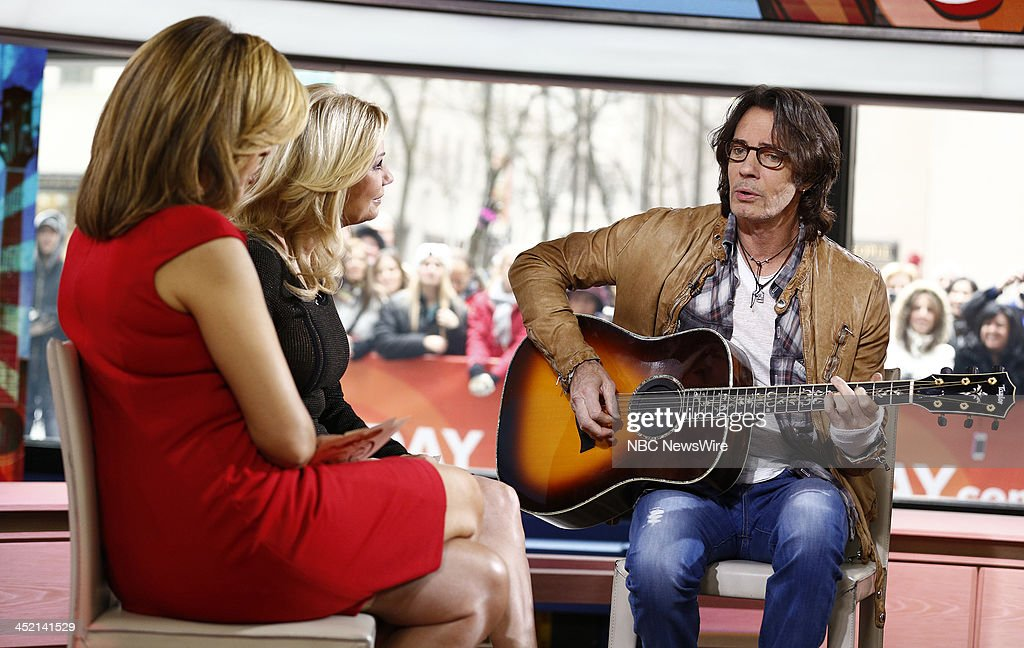 Hoda Kotb, Kathie Lee Gifford and Rick Springfield appear on NBC News' 'Today' show --