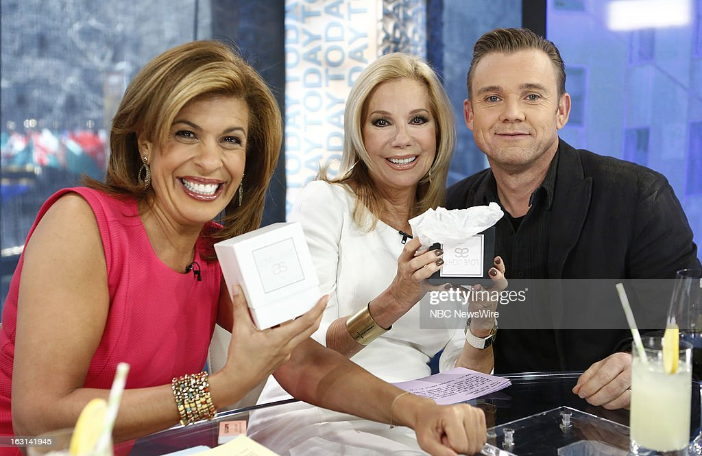 Hoda Kotb, Kathie Lee Gifford and Ricky Schroder appear on NBC News' 'Today' show --