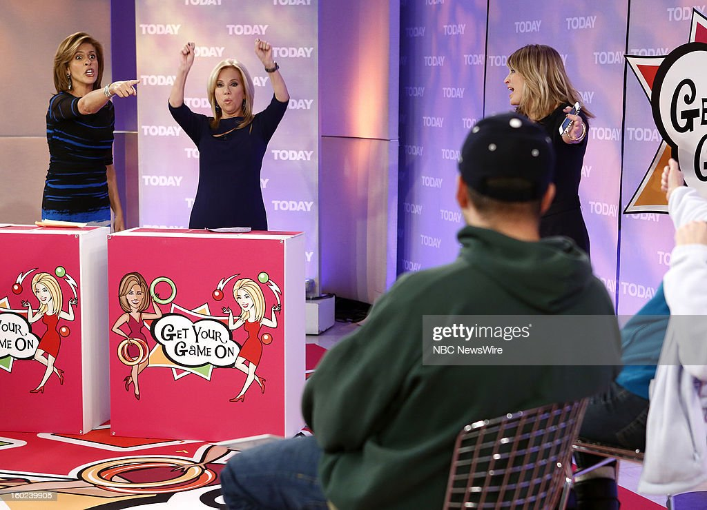 Hoda Kotb, Kathie Lee Gifford and Sara Haines appear on NBC News' 'Today' show --