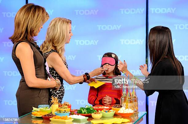 Hoda Kotb Kathie Lee Gifford and Soleil Moon Frye appear on NBC News' 'Today' show