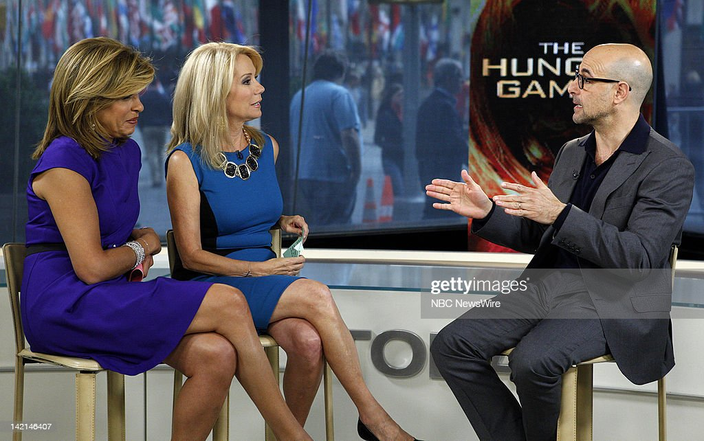 Nbc 39 s today with guest stanley tucci getty images - Nbc today show kathie lee and hoda ...