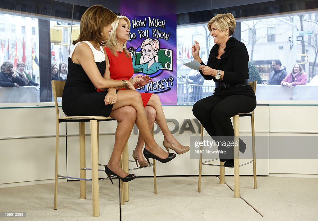 Hoda Kotb, Kathie Lee Gifford and Suze Orman appear on NBC News' 'Today' show --