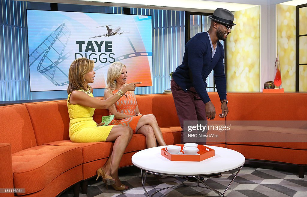 Hoda Kotb, Kathie Lee Gifford and Taye Diggs appear on NBC News' 'Today' show --