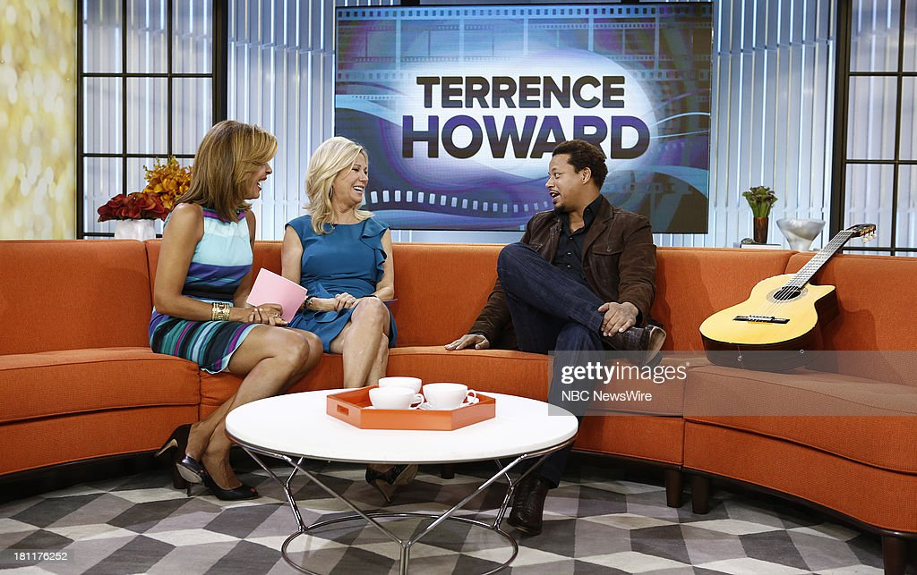 Hoda Kotb, Kathie Lee Gifford and Terrence Howard appear on NBC News' 'Today' show --