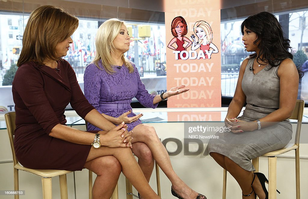 Hoda Kotb, Kathie Lee Gifford and Toni Braxton appear on NBC News' 'Today' show --