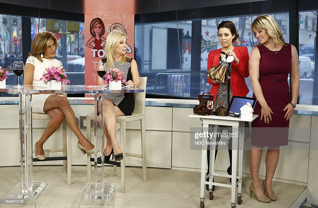 Hoda Kotb, Kathie Lee Gifford, Bobbie Thomas and Sara Haines appear on NBC News' 'Today' show --
