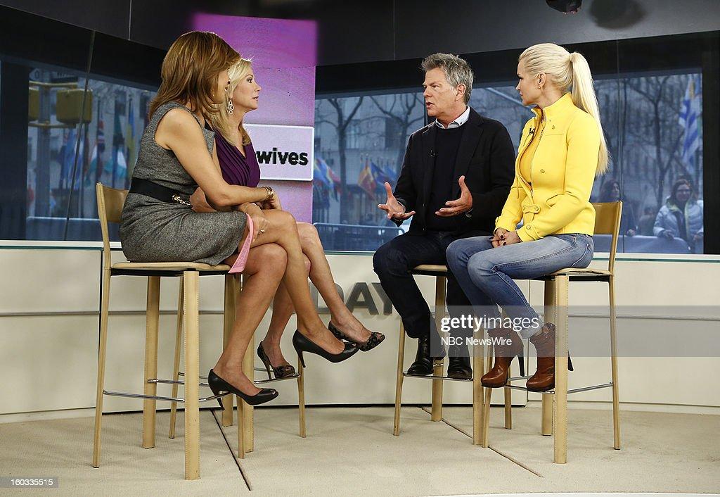 Hoda Kotb, Kathie Lee Gifford, David Foster and Yolanda Foster appear on NBC News' 'Today' show --