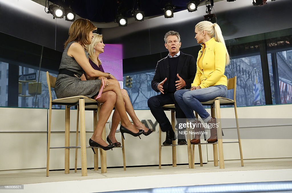 Hoda Kotb, Kathie Lee Gifford, David Foster and Yolanda Foster appear on NBC News' 'Today' show --