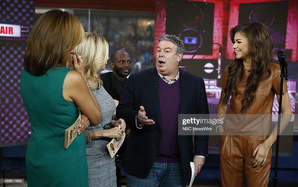 Hoda Kotb, Kathie Lee Gifford, Elvis Duran and Zendaya appear on NBC News' 'Today' show --