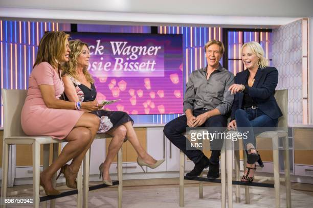 Hoda Kotb Kathie Lee Gifford Jack Wagner and Josie Bissett on Friday June 16 2017