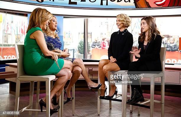 Hoda Kotb Kathie Lee Gifford Jenna Elfman and Ava DelucaVerley appear on NBC News' 'Today' show