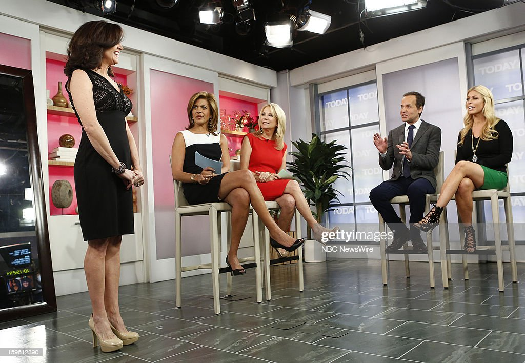 Hoda Kotb, Kathie Lee Gifford, Louis Licari and Jill Martin appear on NBC News' 'Today' show --