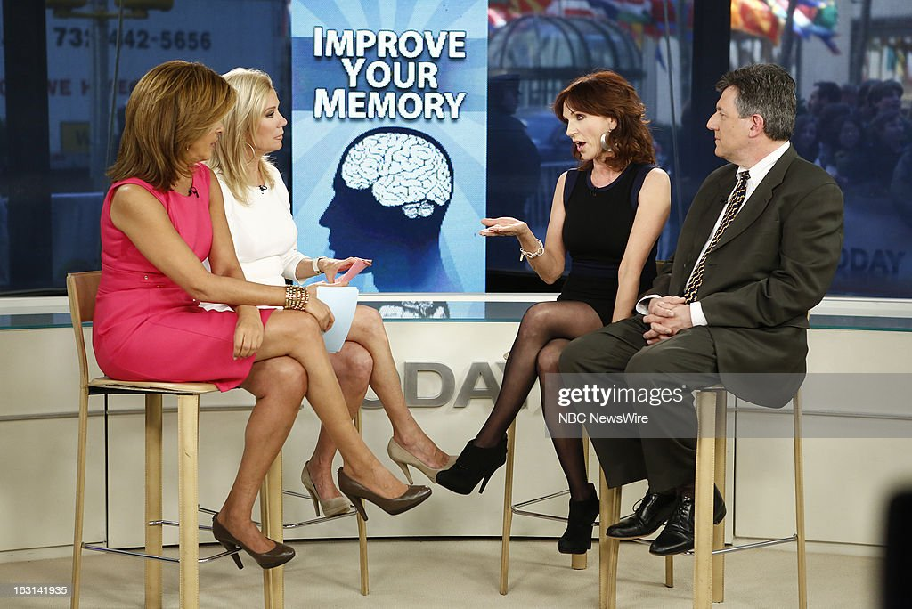 Hoda Kotb, Kathie Lee Gifford, Marilu Henner and Dr. Sam Gandy appear on NBC News' 'Today' show --