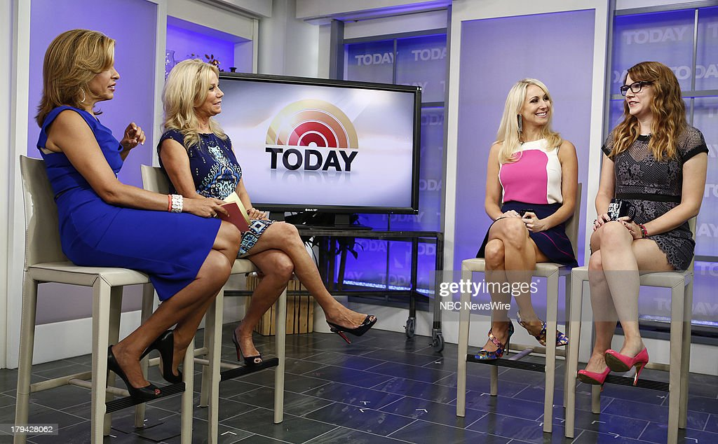 <a gi-track='captionPersonalityLinkClicked' href=/galleries/search?phrase=Hoda+Kotb&family=editorial&specificpeople=2338013 ng-click='$event.stopPropagation()'>Hoda Kotb</a>, <a gi-track='captionPersonalityLinkClicked' href=/galleries/search?phrase=Kathie+Lee+Gifford&family=editorial&specificpeople=203269 ng-click='$event.stopPropagation()'>Kathie Lee Gifford</a>, Nikki Glaser and <a gi-track='captionPersonalityLinkClicked' href=/galleries/search?phrase=Sara+Schaefer&family=editorial&specificpeople=7320919 ng-click='$event.stopPropagation()'>Sara Schaefer</a> appear on NBC News' 'Today' show --