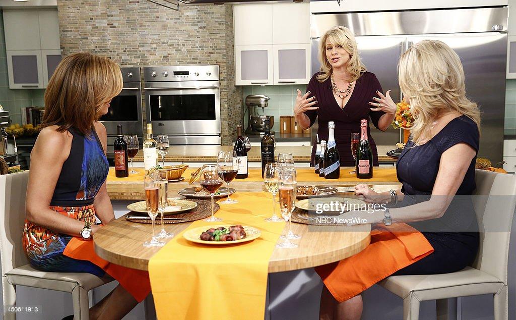 Hoda Kotb Leslie Bracco and Kathie Lee Gifford appear on NBC News' 'Today' show --