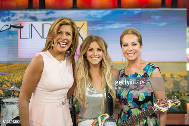 Hoda Kotb Lindsay Ell and Kathie Lee Gifford on Wednesday Aug 9 2017
