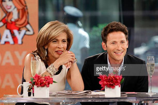 Hoda Kotb Mark Feuerstein While Kathie Lee Gifford is serving jury duty NBC News' Hoda Kotb is joined by guest cohost Mark Feuerstein of USA's 'Royal...
