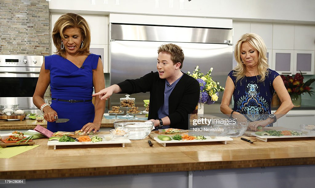 Nbc 39 s today with guests shane salerno ariana grande - Nbc today show kathie lee and hoda ...