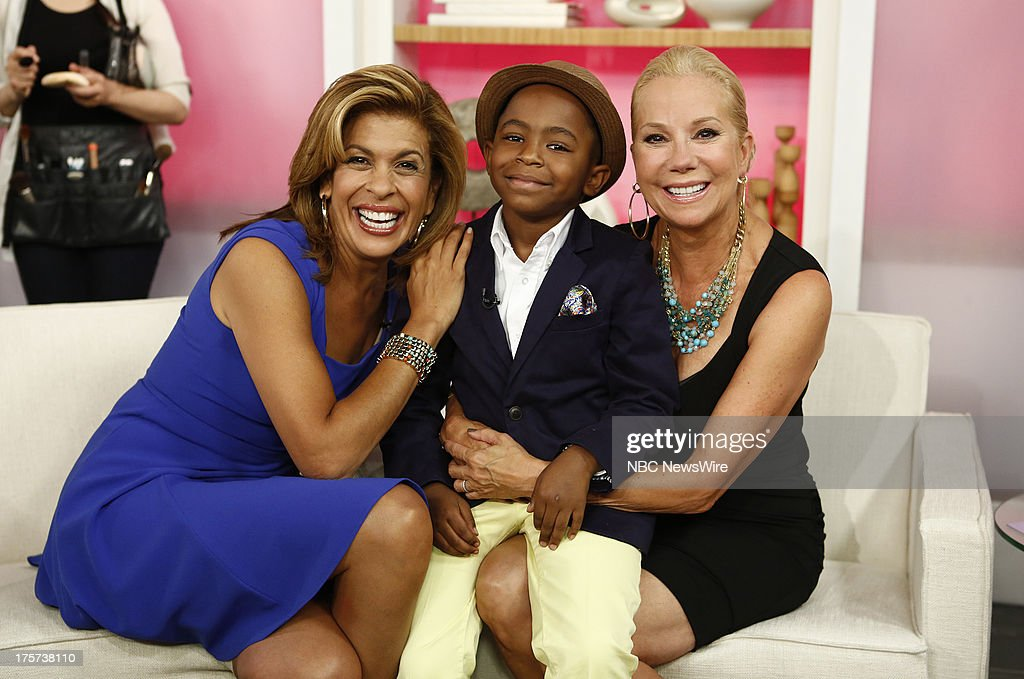 Nbc 39 s today with guests ariana and christine huffington - Nbc today show kathie lee and hoda ...