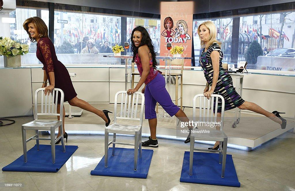 Hoda Kotb, Shahida Ansari and Kathie Lee Gifford appear on NBC News' 'Today' show --
