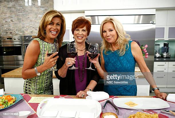 Hoda Kotb Vicki Lawrence and Kathie Lee Gifford appear on NBC News' 'Today' show