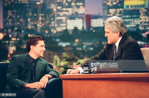 Horse racer Kent Desormeaux during an interview with host Jay Leno on June 1 1998