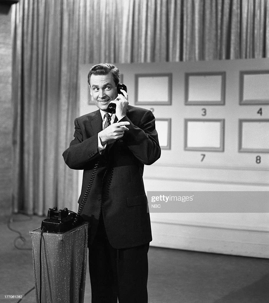 Host Bob Barker in 1958