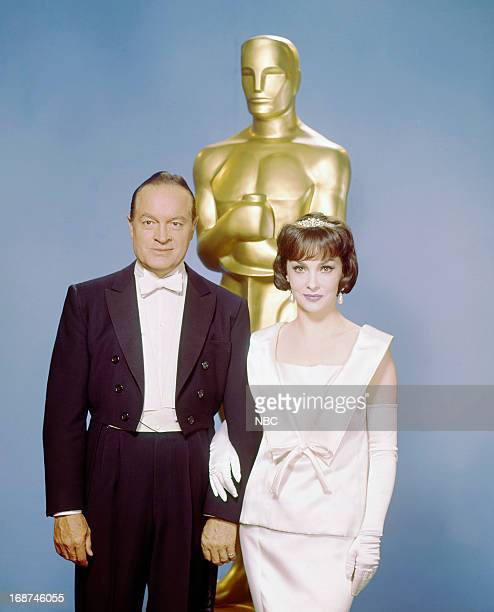 Host Bob Hope actress Gina Lollobrigida