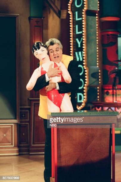 Host Jay Leno on April 29 1999