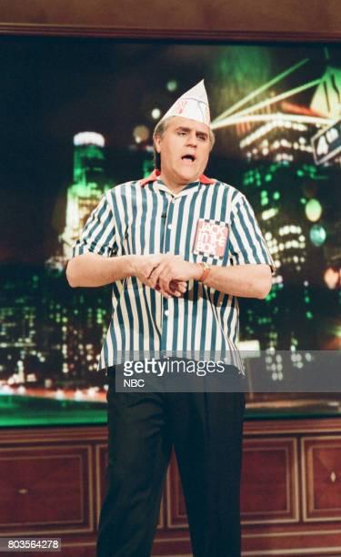 Host Jay Leno on March 10 1998