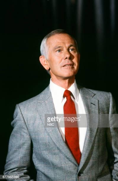 Host Johnny Carson on August 10 1979