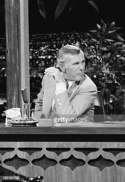 Host Johnny Carson on July 20 1973
