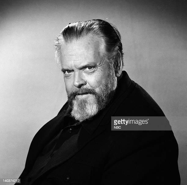 Host Orson Welles